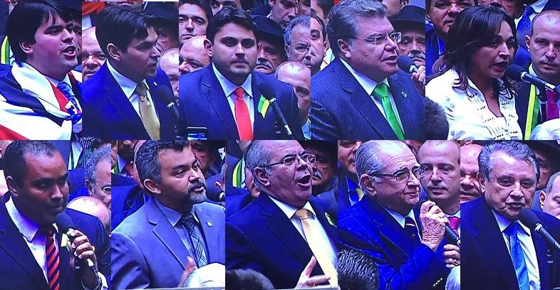 Deputados maranhenses que não cederam às propostas do governo Dilma
