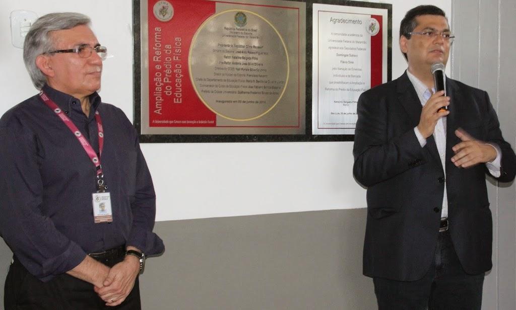 Natalino e Dino, boas parcerias durante a passagem do primeiro, na UFMA