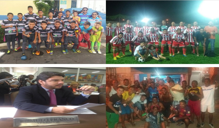 O vereador Rômulo Franco tem visitado diariamente as comunidades de São Luís