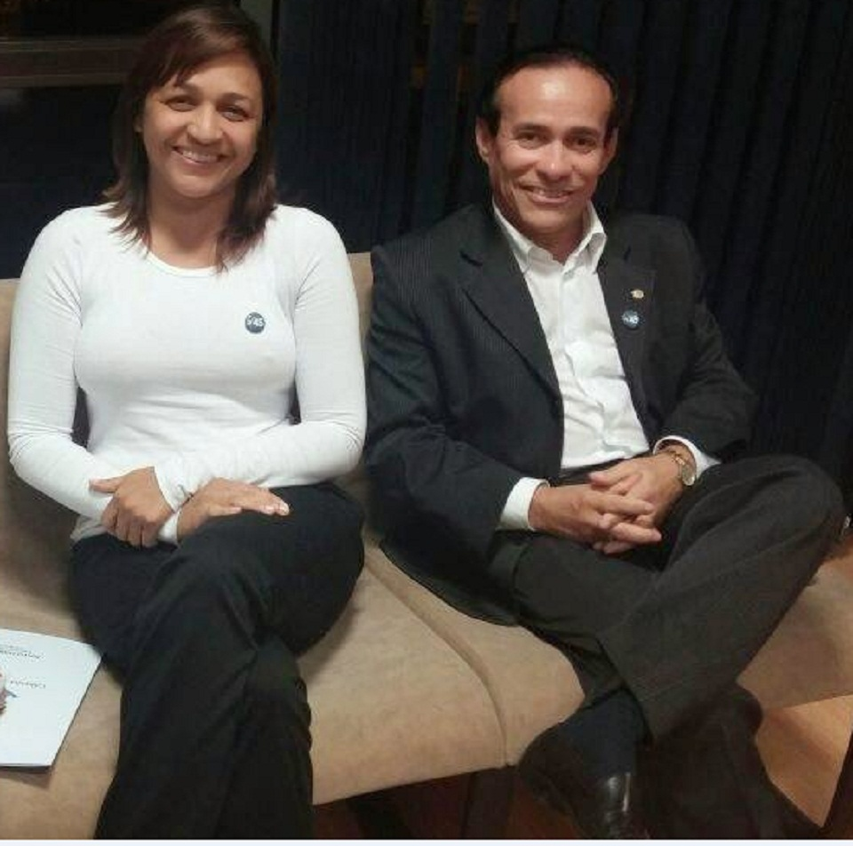 Eliziane Gama e Pinto Itamaraty, reuniões constantes
