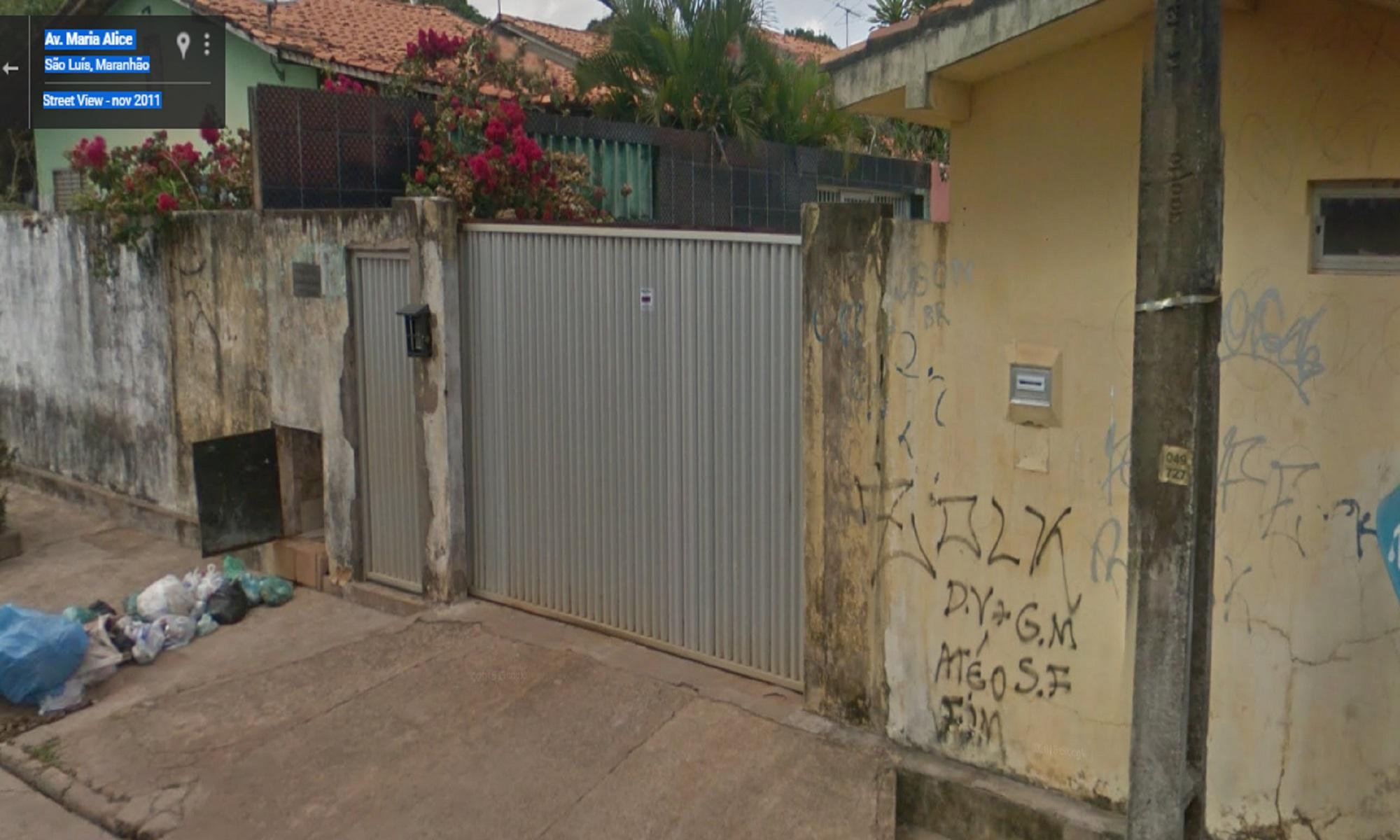 Casa em que o prefeito carrinho morava antes de ser prefeito, avaliada em 40 mil reais