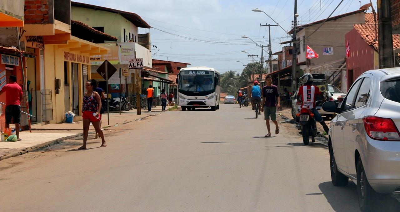 Serviço de pavimentação no Bairro Vila Luizão, em São Luís. Foto: Divulgação