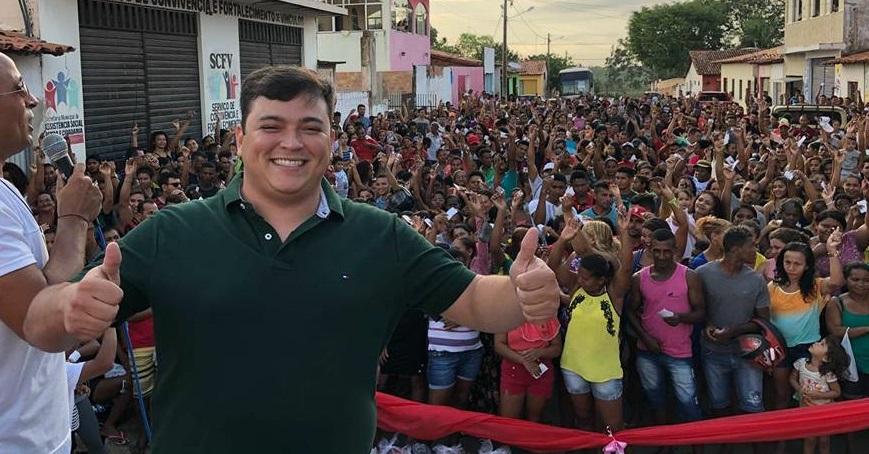 Diego Freitas, Secretário de Saúde de São Vicente Ferrer